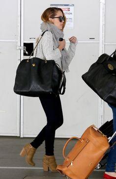 Get Lauren's airport look.