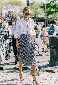 Nyfw New York Fashion Week Street Style Outfits Collage Vintage Vintage… Nyfw Street Style, Street Style Summer, Street Style Looks, Street Chic, Nyfw Style, East Street, Fashion Week, New York Fashion, Look Fashion