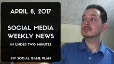 Social Media Weekly News by Jonathan Payne Top Social Media, Social Media Marketing, Facebook News, Social Games, Small Business Marketing, Locker, How To Plan, Room, Bedroom