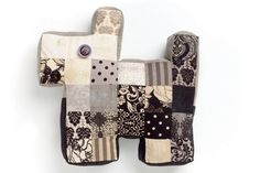 How to Sew a Patchwork Dog #jellyroll #sewing #project
