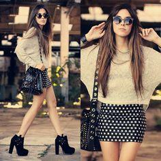 Lovelly Saly Skirt, Antix Jumper, Zero Uv Sunglasses, Iclothing Bag
