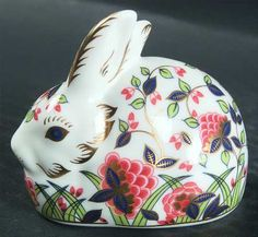 Royal Crown Derby Imari Meadow Rabbit paperweight - how many of these things did RCD make??