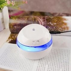 Air Aroma Humidifier, Mini Usb Office & Home Air Purifier LED Lights