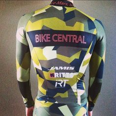 New Bike Central Cyclocross Team skin suit.