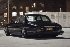 Hot rodded Jaguar XJ6,... very cool, ask me to build it for you,... the perfect Club car. see Jagmania