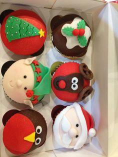 Christmas Cupcakes 2015