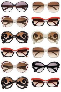 Pick your Prada sunglasses.