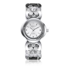 REBIRTH Luxury Watch Gold Crystal Stainless Steel Flower Ladie Watch Accessories Gift for Women online - NewChic