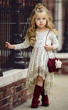 VOGUE ENFANTS: Must Have of the Day: Dollcake most popular design is back and better than ever! Little Girl Outfits, Little Girl Fashion, Toddler Fashion, Kids Fashion, Toddler Outfits, Toddler Girls, Baby Girl Dresses, Baby Dress, Flower Girl Dresses