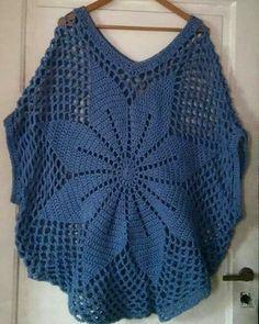 Publicação do Instagram de Stella Crochet • 5 de Abr, 2019 às 1:31 UTC Crochet Shirt, Crochet Jacket, Crochet Cardigan, Diy Crochet, Crochet Top, Crochet Motif Patterns, Crochet Summer Tops, Crochet Fashion, Crochet Clothes