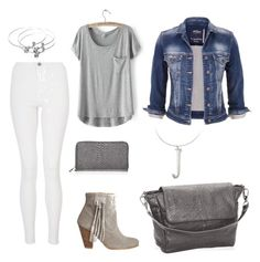 """""""Grey w/ Thirty-One accessories"""" by jonetg on Polyvore featuring maurices, Quiz, HOWSTY, 31Fashion and 31withJonet"""