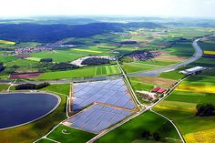 German renewable energy accounted for roughly around 31 percent of the country's electricity generation in the first six months of 2014. Read about it here.