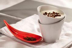 Iogurte com café, uma combinação PERFEITA <3 #Receita #Cafe #Iogurte