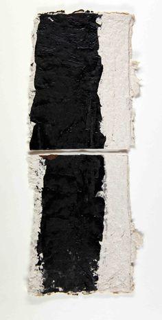 Collage papel hecho a mano: Eduardo seco