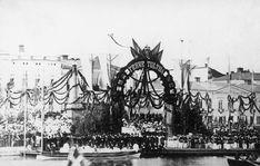Helsinki 28.7.1863   Keisari Aleksanteri II vierailu Helsingissä 28.-30.7.1863 Helsinki, Paris Skyline, History, Travel, Historia, Viajes, Destinations, Traveling, Trips
