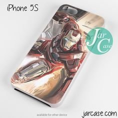ironman art painting Phone case for iPhone 4/4s/5/5c/5s/6/6 plus