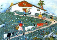 Alois Carigiet, Flurina und das Wildvögelein