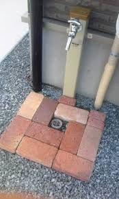 「お洒落立水栓 タイルテラス」の画像検索結果