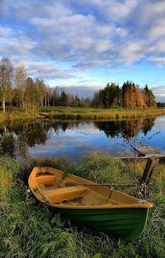 Lake Photography, Landscape Photography, Landscape Art, Landscape Paintings, Foto Nature, Beautiful Places, Beautiful Pictures, Lake Painting, Lake Art
