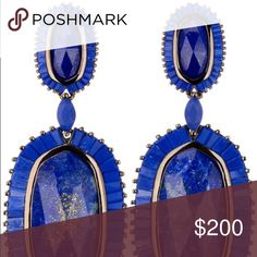 ISO Blue Lapis Kendra Scott Kaki's Please help me locate these beauties! Kendra Scott Jewelry Earrings