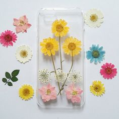 Pressed Flower iPhone 5s Case iPhone 5s Case by mugandcase on Etsy