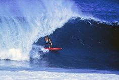 7456d0aa6e Rory Russell at Pipeline (70 s)   Jeff Divine ph Lightning Bolt