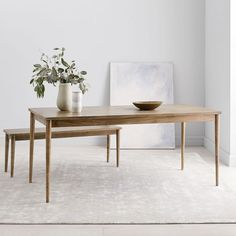 Modern Farmhouse Dining Table - Carob - another great option that fits Farmhouse Dining Benches, Modern Farmhouse Table, Reclaimed Wood Dining Table, Farmhouse Style Kitchen, Modern Dining Table, Modern Farmhouse Kitchens, Dining Room Table, Dining Rooms, West Elm Dining Table