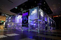 更大氣、更狂想!率先直擊 NIKE AIR 實驗基地台灣 Pop-Up 現場 | HYPEBEAST Visual Merchandising, Nike Air, Pop Up, Nike Retail, Store Window Displays, Pop Toys, Retail Store Design, Exhibition Booth, Tecno
