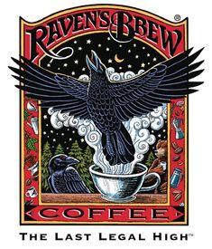 Cafe Don Pablo Gourmet Coffee Signature Blend - Medium-Dark Roast Coffee - Whole Bean Coffee - 2 Pound ( 2 lb ) Bag Crow Art, Raven Art, Bird Art, Coffee Girl, I Love Coffee, Coffee Poster, Coffee Logo, Coffee Menu, Coffee Branding