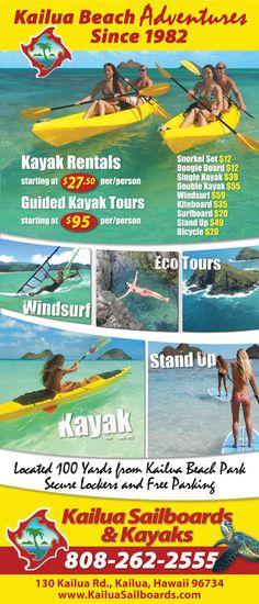 Kailua Activities - Things to do in and around Kailua Hawaii by KailuaVacationRentals.Net