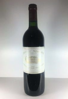 Château Margaux 1985 Bordeaux, Wine Prices, Red Wine, Alcoholic Drinks, Bottle, Glass, Drinkware, Bordeaux Wine, Alcoholic Beverages