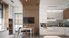 WOOD - SMART&MINI. Квартира до 30 кв. метров   PINWIN - конкурсы для архитекторов, дизайнеров, декораторов