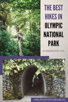 Everything you must know before visiting Olympic National Park in Washington, USA. Hikes, campgrounds, and the best stops for your road trip. Life Is An Adventure, Adventure Travel, Travel Usa, Travel Tips, Travel Guides, Beach Travel, Canada Travel, Travel Packing, Travel Essentials