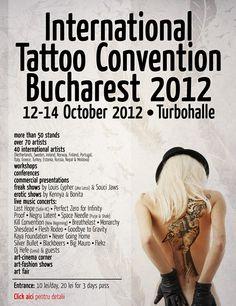 CONCURS – Castiga una din cele 5 invitatii la International Tattoo Convention!!