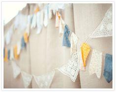 Wedding Inspirations | Lovely Lace | UBetts Rental & Design | Bunting Flag