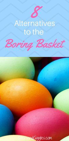 Easter basket, easter basket alternatives, nontraditional easter baskets, best easter baskets