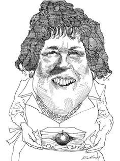 Chef Julia Child.