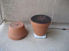 DIY Clay Pot Smoker | Home Design, Garden & Architecture Blog Magazine