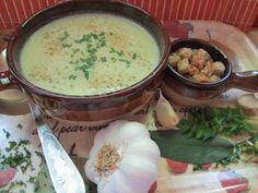 Fokhagymakrémleves - Balkonada egyszerű leves recept