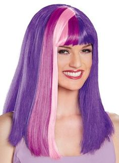 My Little Pony is even more popular today than it was thirty years ago! Now even adults can get into the act and become their favorite MLP character thanks to this great wig, which will be the perfect