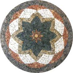 Mandala em mosaico  Indiana II R0297