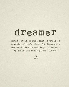 Motivation Monday: Do You Dream Big?