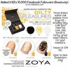 Nailed It NZ: 10,000 FB Followers Nail Giveaway ♥ SIXTEEN WINNERS! ✿