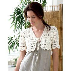 FREE PATTERN..Crochet Bolero