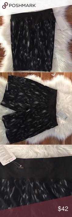 NWT Lululemon Hardcore Men's Shorts New Lululemon Hardcore Short in Men's size small...color is black with gray splashes..sorry, no trades lululemon athletica Shorts Athletic