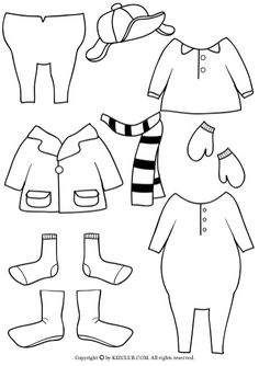 FREE template for Froggy Gets Dressed by Jonathan London