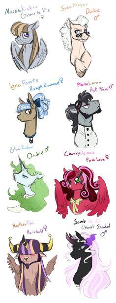 Sketch Dump: Crackships 2 by Vindhov on DeviantArt Sad Child, My Little Pony Collection, Princess Cadence, Mlp Characters, Princess Twilight Sparkle, Cute Ponies, Fairytale Fantasies, Pokemon Eevee, My Little Pony Friendship