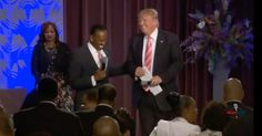 Black Church Gives Trump Standing Ovation (Video)