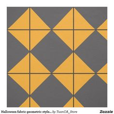 Halloween fabric geometric style 1