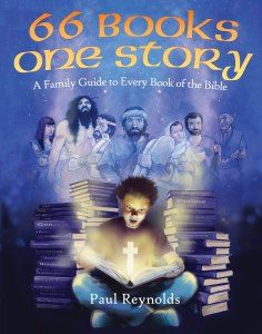 66 Books One Story by Paul Reynolds {Review by Danika Cooley at ThinkingKidsBlog.org}